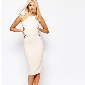 NEW MISSGUIDED Midi Body Conscious Dress 💝 💕